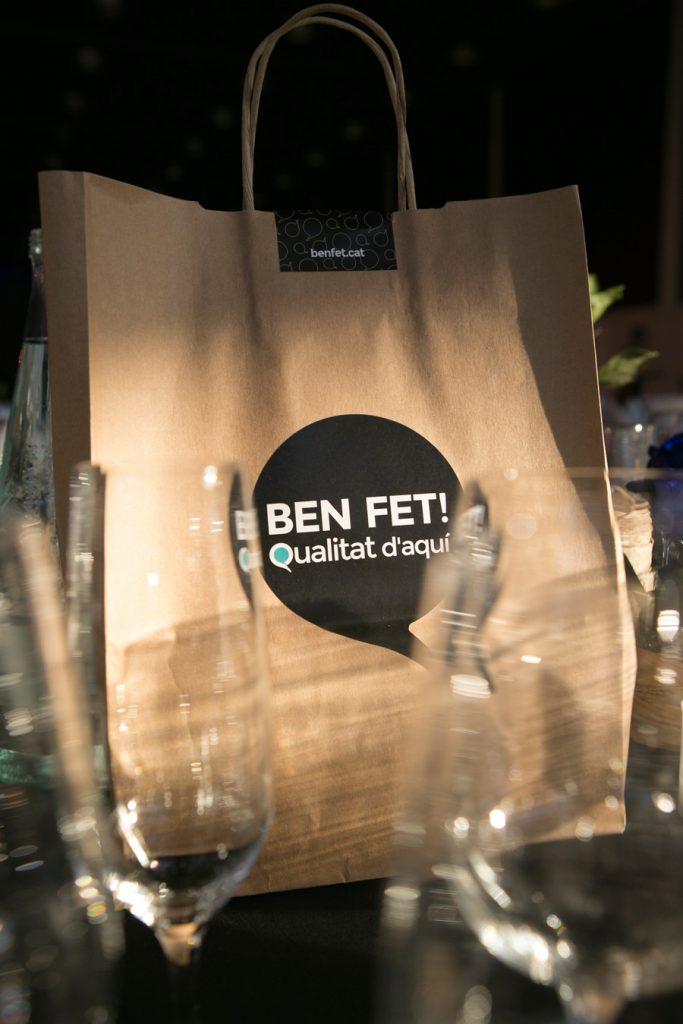 Gran posada en escena de BEN FET! a la gala dels Premis Pimes 2014