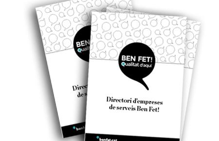 DIRECTORI D'EMPRESES DE SERVEIS BEN FET!