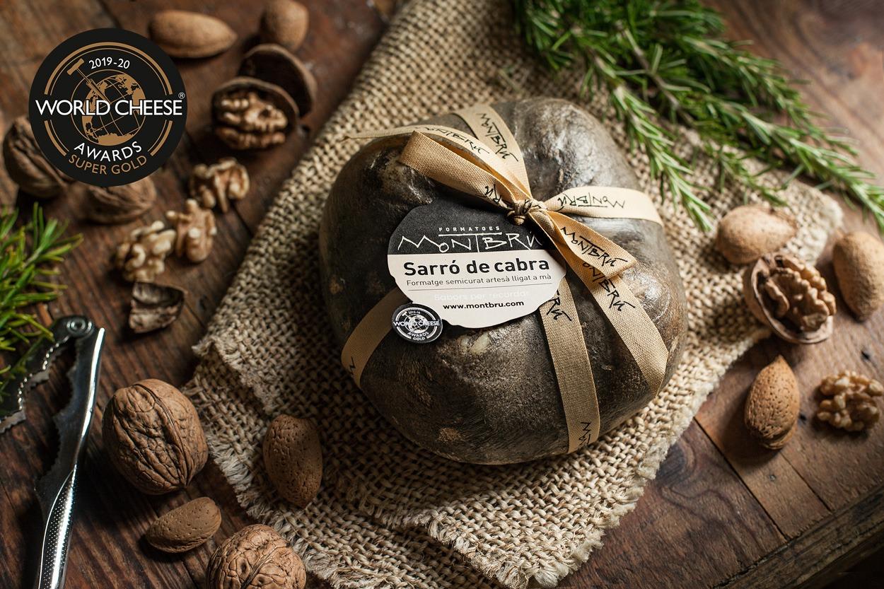 El Sarró de Montbrú, millor formatge de cabra de pell florida del món