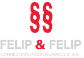 logo felip & felip assegurances Ben Fet!